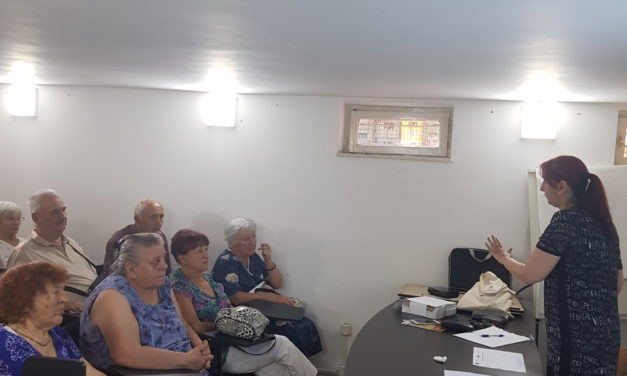 Education workshop for older people from Pirot and Dimitrovgrad