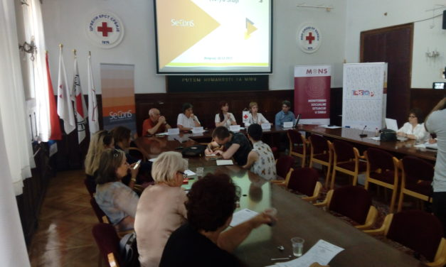 "Panel discussion ""Growing old in Serbia"""