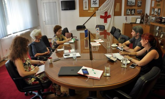 Monitoring visit to the Red Cross of Montenegro and Dignitas Network