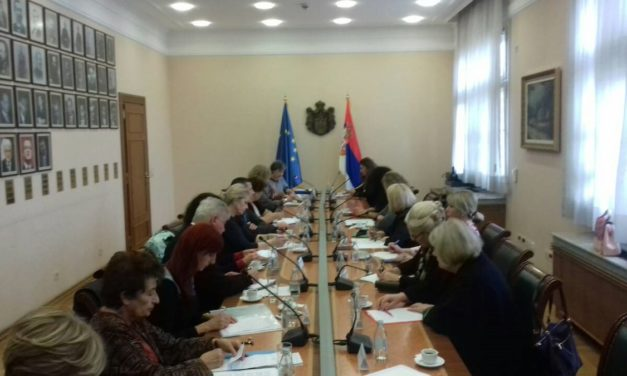 Third session of the Serbian Government's Council for Ageing