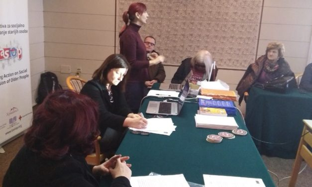 Meeting of the Network For Ageing with Dignity, Sarajevo, 20 and 21 December 2018