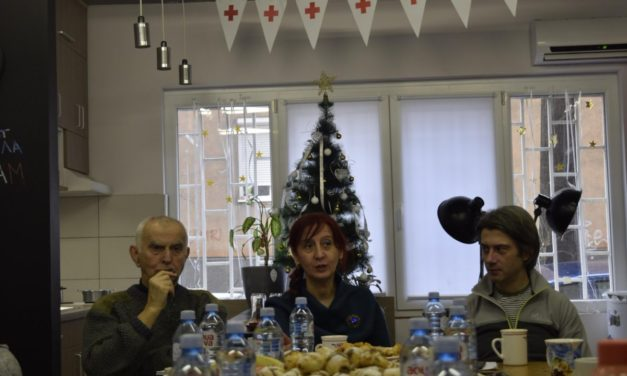"""First focus group interview in the """"Intergenerational Exchange"""" project"""