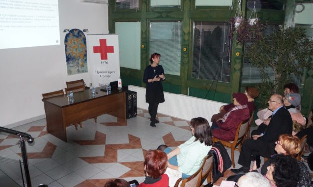 Lecture on elder abuse in Subotica