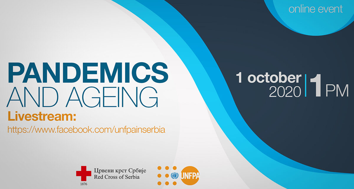 "1 October, International Day of Older Persons  ""Pandemics: Do They Change How We Address Age and Ageing?"""