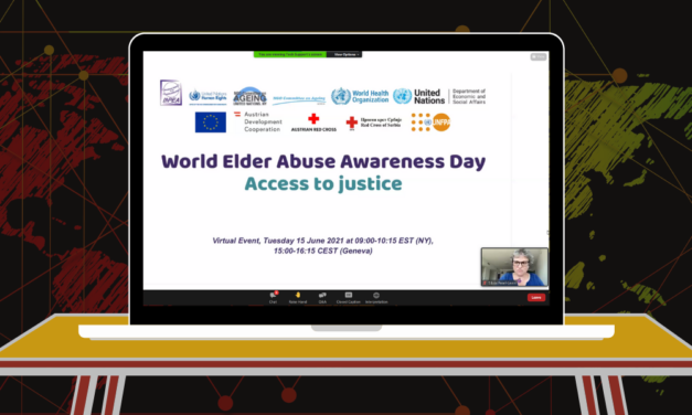 """World Elder Abuse Awareness Day: Webinar """"Access to Justice"""""""