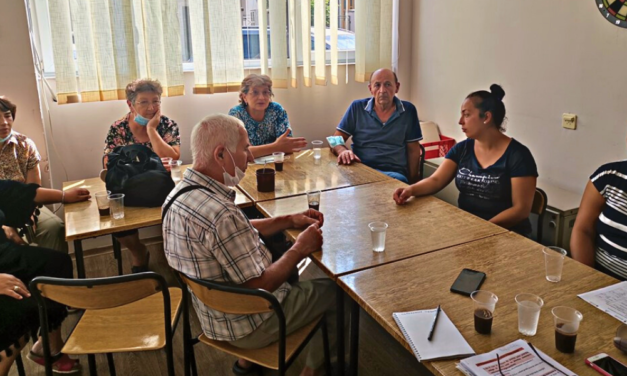 Focus groups in the Red Cross of Pirot – Addressing and preventing care needs through innovative community care centres (I-CCC project)